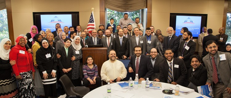 Figure 3 USCMO hosted the first National Muslim Advocacy Day in Capitol Hill in Washington, D.C. on April 13, 2015